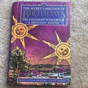 The Secret Language of Birthdays 🎂 book